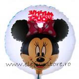 Balon Dublu Minnie Mouse 45cm