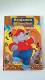 Carte de povesti pentru copii, in limba germana, Das Zookonzert, B. Blumchen