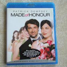 "Blu-ray Film ""MADE OF HONOUR"" Tradus - NOU"