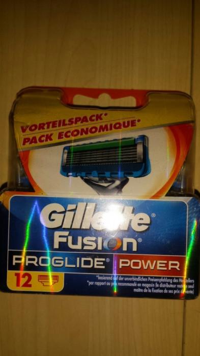 Set 12 rezerve Gillette Fusion Proglide Power