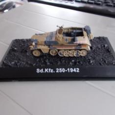 Macheta transportor blindat SD.Kfz 250, model 1942, scara 1:72