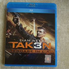"Blu-ray Film ""TAKEN 3"" Tradus - NOU"