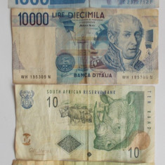 Lot set bancnote straine - bancnota asia, An: 2000