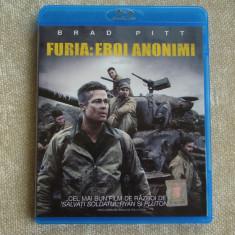 Blu-ray Film FURY (Furia: Eroi Anonimi) Tradus - NOU Sigilat - Film actiune columbia pictures, Romana