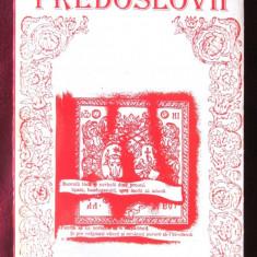CARTI ROMANESTI VECHI. PREDOSLOVII, 1994. Antologie de T. Nedelcea. Carte noua - Carte Antologie