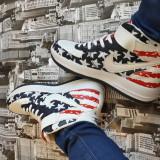 Ghete Nike Air Force One - Ghete dama, Culoare: Din imagine, Marime: 38