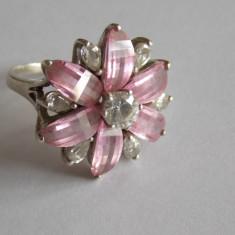 Inel de argint cu zirconii-913 - Inel argint