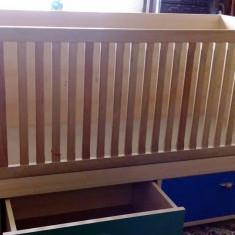 Pat copil din lemn - Patut lemn pentru bebelusi, Alte dimensiuni, Altele