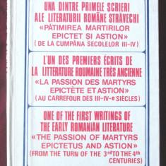 """""""UNA DINTRE PRIMELE SCRIERI ALE LITERATURII ROMANE STRAVECHI"""", 1990. Carte noua - Vietile sfintilor"""