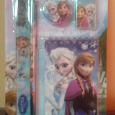 Set instrumente cu notes Frozen - Set rechizite Disney