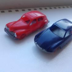 Lot masinute vintage miniaturi HO HO Jouef France Citroen Peugeot 203 - Jucarie de colectie