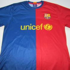Tricou fotbal FC BARCELONA - nr.10 MESSI - Tricou echipa fotbal, Marime: S, Culoare: Din imagine