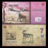 Ice Age 2015 - 7 dollars UNC