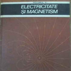 Cursul De Fizica Berkeley Vol.2 Electricitate Si Magnetism - Edward M. Purcell, 390841 - Carte Fizica