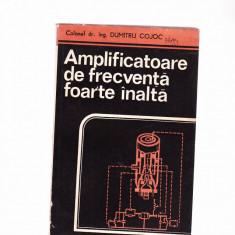 AMPLIFICATOARE DE FREGVENTA FOARTE INALTA - Amplificator studio Altele