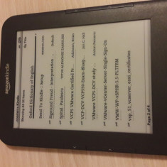 Kindle 3 wifi, USA market, fara reclame - Kindle Keyboard