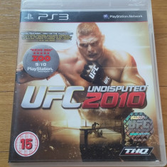 PS3 UFC undisputed 2010 - joc original by WADDER - Jocuri PS3 Thq, Sporturi, 16+, Multiplayer