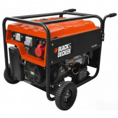 Generator de curent pe benzina Black&Decker BD 5500, 5500 W, 28 L - Generator curent Black & Decker, Generatoare uz general