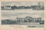 SOUVENIR DIN SULINA  VEDERE DE COMISION EDITURA LIBRARIA G. VOLTERA , SULINA, Circulata, Printata