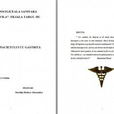LUCRARE DE LICENTA AMG - INGRIJIREA PACIENTILOR CU GASTRITA