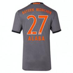 Tricou BAYERN 27 ALABA - Tricou echipa fotbal, Marime: M, S, XL, Culoare: Din imagine, De club, Bayern Munchen, Maneca scurta