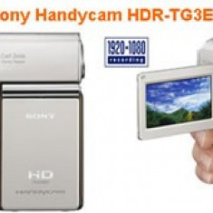 Sony Handycam HDR-TG3E - Camcorder - High Definition - Camera Video Sony, 2-3 inch, Card Memorie, CMOS, Peste 40x