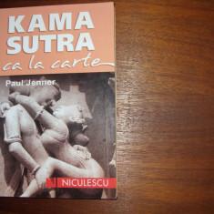 KAMA  SUTRA  CA  LA  CARTE   (  stare foarte buna ) *
