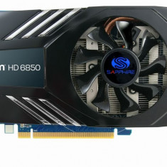 Placa video Sapphire Radeon HD 6850 1GB Dual-DVI, HDMI, display port - Placa video PC Sapphire, PCI Express, Ati