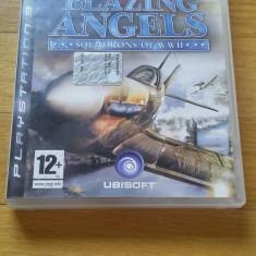 PS3 Blazing angels squadrons of ww 2 - joc original by WADDER - Jocuri PS3 Ubisoft, Simulatoare, 12+, Multiplayer
