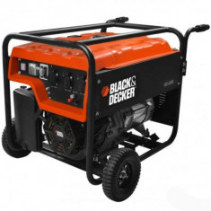 Generator de curent pe benzina Black&Decker BD 3000, 196 cmc, 1.7 kW - Generator curent Black & Decker, Generatoare uz general