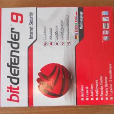 Antivirus Bitdefender 9 Internet Security Sigilat., CD, Numar licente: 1