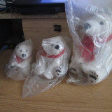 Set 3 ursi de plus albi Coca-Cola - Jucarii plus