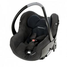 Cosul Auto Creatis Fix Total Black - Scaun auto copii Bebe Confort, 0+ (0-13 kg), Isofix