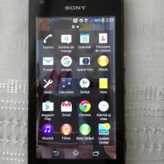 Vand telefon Sony Experia C2005 Dual Sim - Telefon mobil Sony, Negru, Neblocat