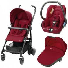 Carucior Trio Maia Walnut Brown - Carucior copii 3 in 1 Bebe Confort