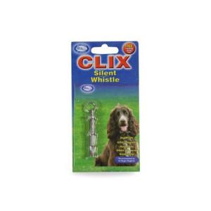 Fluier CLIX Silent pentru dresaj caini