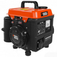 Generator de curent pe benzina Black&Decker BD 1000i, inverter, 850 W, 2 L - Generator curent