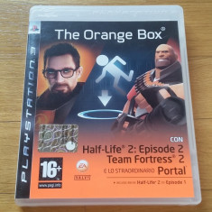 PS3 The orange box (Half life, Portal, Team fortress 2) - joc original by WADDER - Jocuri PS3 Ea Games, Shooting, 16+, Single player