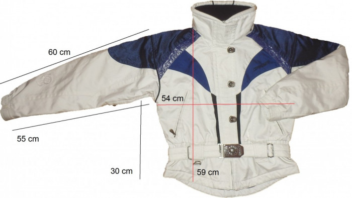 Geaca ski schi SPYDER originala XT.L Thinsulate (dama XL) cod-174062 foto mare