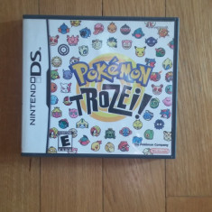 NINTENDO DS Pokemon Trozei! / Joc original by WADDER, Actiune, 3+, Single player