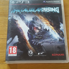 PS3 Metal gear rising revengeance - joc original by WADDER - Jocuri PS3 Altele, Actiune, 18+, Single player