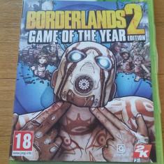 XBOX 360 Borderlands 2 GOTYE / Joc original PAL by WADDER - Jocuri Xbox 360, Shooting, 18+, Multiplayer