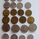 LOT MONEZI DIFERITE, ROMANIA, DUPA 1989, 39 BUC. - Moneda Romania, An: 1943