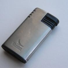 Bricheta metalica, inscriptionata WINSTON - Bricheta de colectie
