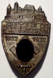 I.692 GERMANIA AL III-LEA REICH INSIGNA NAZISTA HITLER IN COBURG 1922 1932, Europa