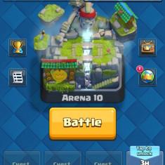 Clas Royale Cont 3150 trofee 8 legendare
