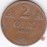 Norvegia 2 ORE 1936, Europa