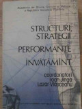 Structuri, Strategii Si Performante In Invatamant - Coordonatori: Ioan Jinga, Lazar Vlasceanu ,390782