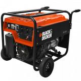 Generator de curent pe benzina Black&Decker BD 4500, 4000 W, 28 L - Generator curent Black & Decker, Generatoare uz general