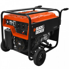 Generator de curent pe benzina Black&Decker BD 4500, 4000 W, 28 L - Generator curent Black & Decker, Generatoare uz general